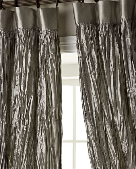 Crushed Silk Dupioni Curtains Curtains By Horchow