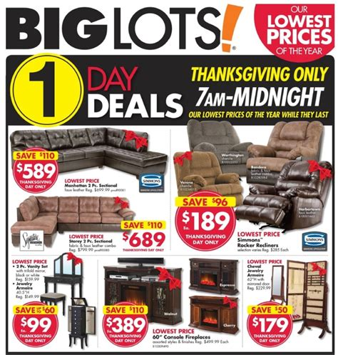 Big Lots Black Friday 2017 Ads, Deals and Sales