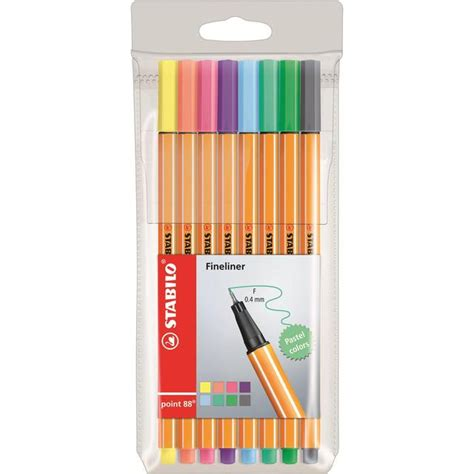Harga Stabilo Per Pack by Stabilo Point 88 Pastel Fineliner Pens 8 Per Pack From Ocado