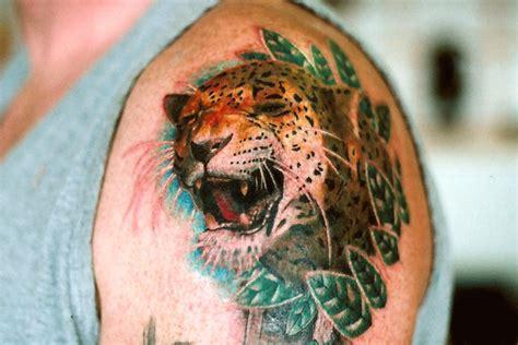 simple jaguar tattoo 25 aggressive jaguar tattoo photos golfian com