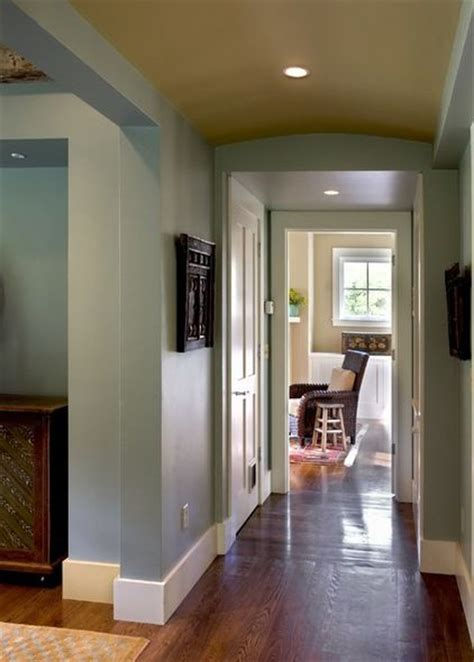 flat stock trim   baseboards contemporary hall