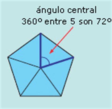 angulo interior de un poligono regular libros de matem 225 ticas i telesecundaria primer grado