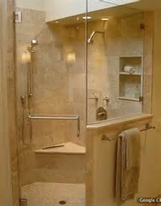 corner shower tile for the home