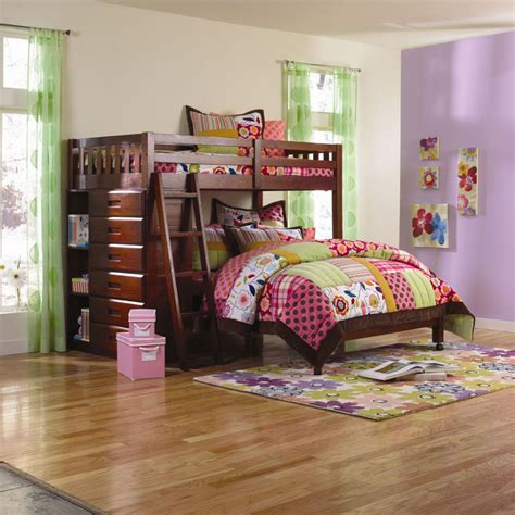 Bunk Bed Bedroom Ideas Boys Bedroom Sweet Parquet Flooring Bedroom Interior Design With Cool Bunk Beds For