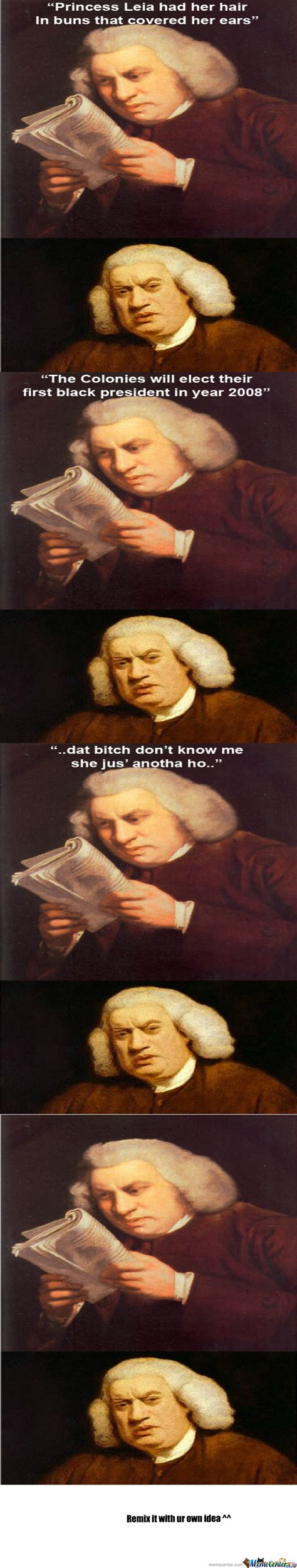 Samuel Johnson Meme - disturbed sam johnson by pierceym meme center
