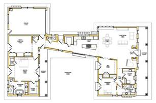 make house plans u shaped modern house plans image modern house design
