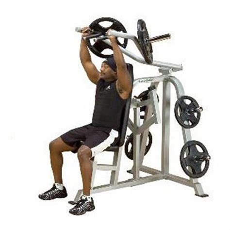 leverage bench press for sale body solid pro club leverage shoulder press 152434 at