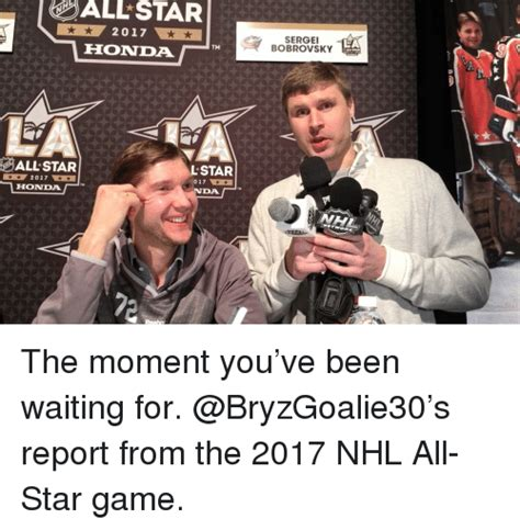 The Moment You All Been Waiting For by 25 Best Memes About Nhl All Nhl All Memes