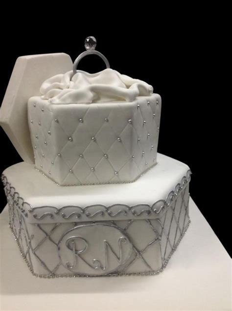 engagement ring cake the sweet boutique delhi
