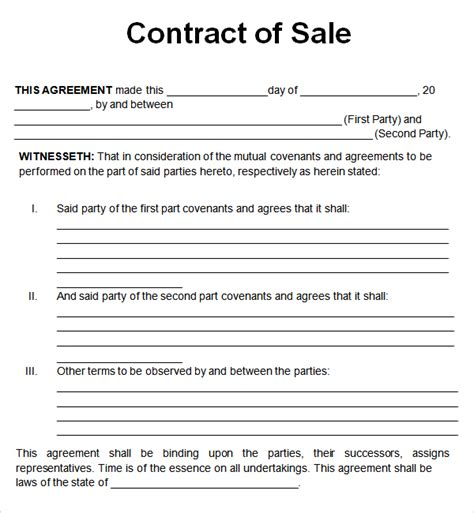 top 5 resources to get free sales contract templates