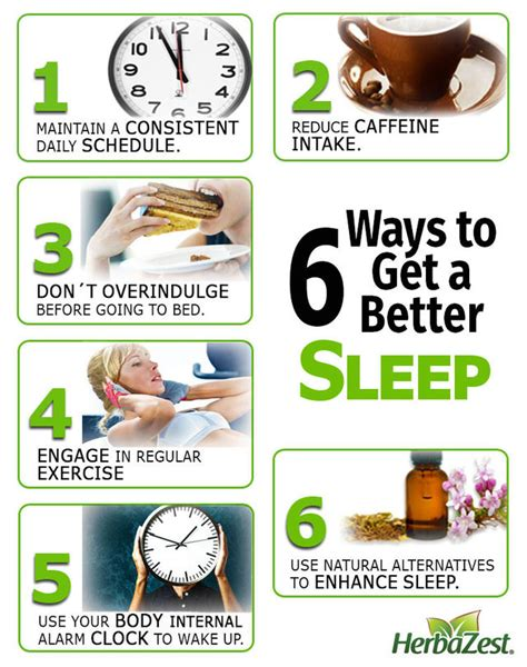 How To A Better Healthy Sleep by Did You How To Get Better Sleep Herbazest