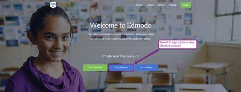 edmodo i m a student sign up student sign up edmodo help center