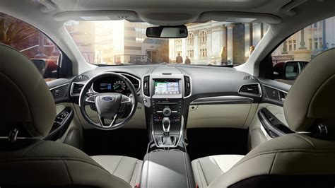 Interior Ford Edge by 2017 Ford Edge Sunset Ford Of Waterloo Waterloo Il