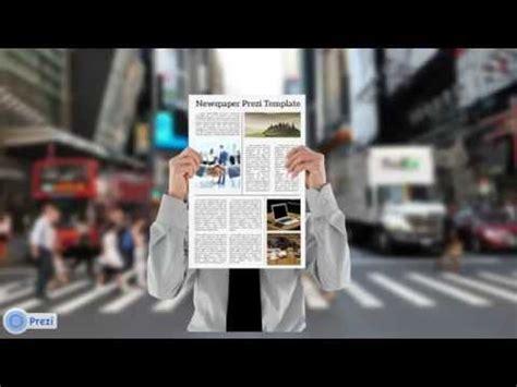 Newspaper Prezi Template Youtube Prezi Newspaper Template