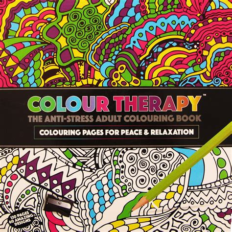 anti stress colouring book for adults australia new anti stress colour therapy colouring books pencils set