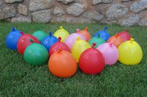 All children love water balloons we played water balloons smash this