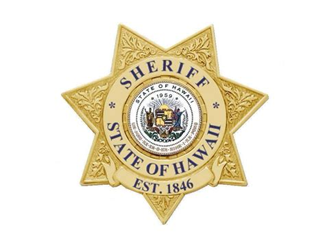 State Of Hawaii Records Department Of Safety Sheriff Division