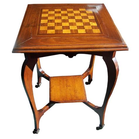 chess table antique chess table at 1stdibs