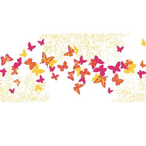 chemin de table motifs papillons 30 cm x 5 m