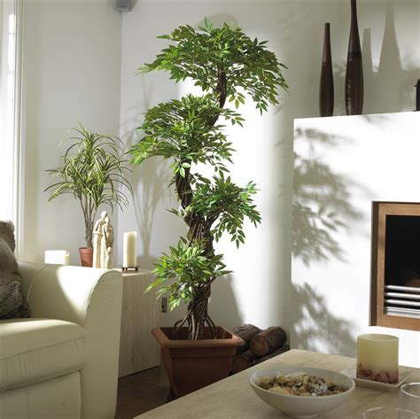 using plants in home decor japanese fruticosa artificial tree looks amazing in any