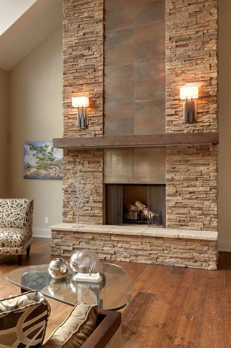 fireplace design ideas with stone 17 best ideas about modern stone fireplace on pinterest