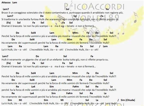 testo sigla note psicoaccordiworld189 giorgio vanni l incredibile