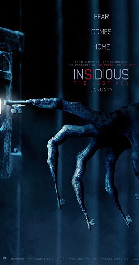 insidious movie poster insidious the last key 2018 imdb