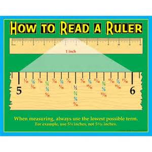 how to read hash marks on a ruler from really good