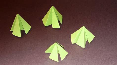 Papier Tannenbaum Falten by Basteln Tannenbaum Falten