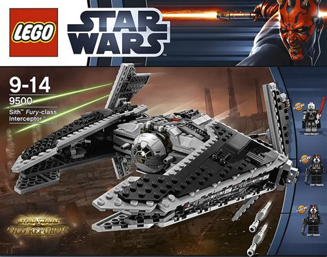 Lego 9500 Wars Sith Fury Class Interceptor lego 9500 sith fury class interceptor