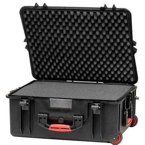 hprc 2700wf wheeled hard case with cubed foam hprc2700wfblack