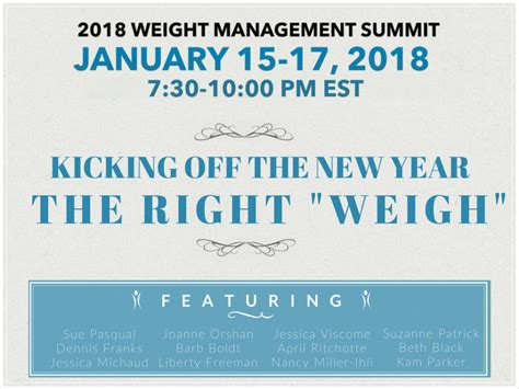 weight management conference 2018 join tls for the 2018 weight management summit