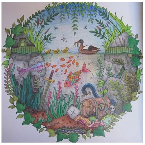secret garden colouring book pens or pencils 2017 secret garden painting pens enchanted forest painting