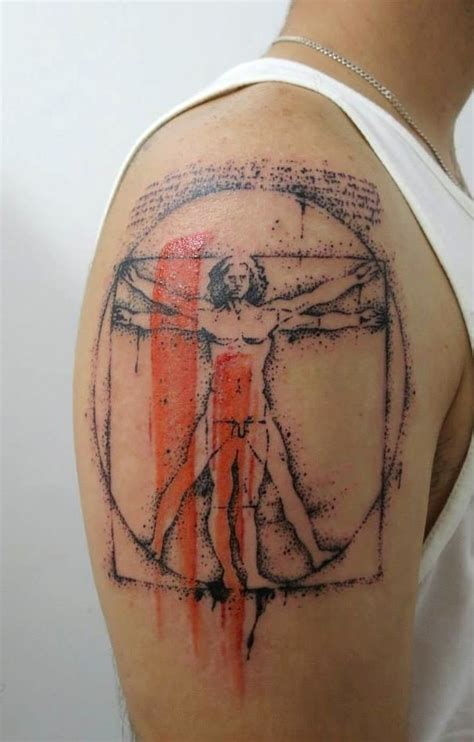 vitruvian man tattoo 25 best ideas about vitruvian on