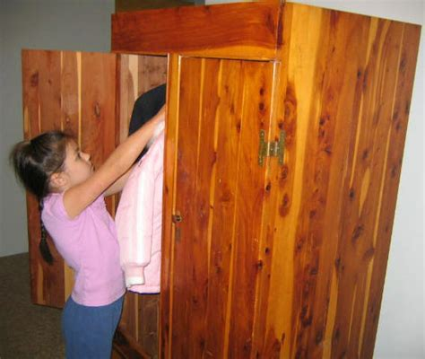 Free Standing Cedar Closet by Armoire Plan
