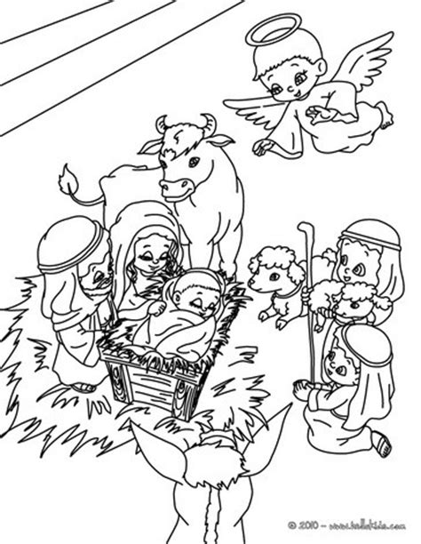 holy family coloring pages hellokids com