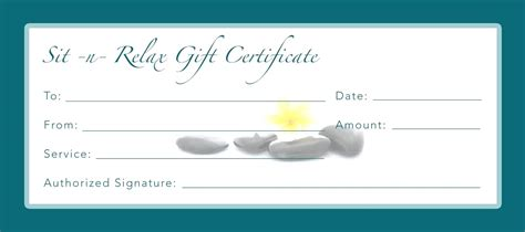 generic gift certificate template template generic gift certificate template