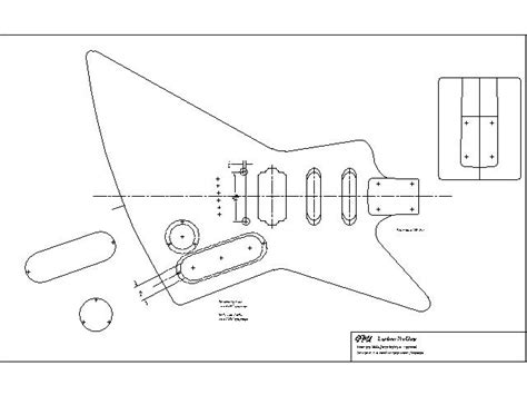 lomins guitar plans gibson explorer