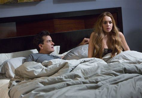 bed scenes report lindsay lohan refused to film kissing scene with