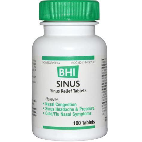 Sinus Infection Liver Detox by Medinatura Bhi Sinus 100 Tablets Evitamins