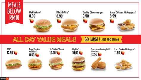 Harga Laneige Fresh Calming mcdonalds all day value meals below rm10 deals