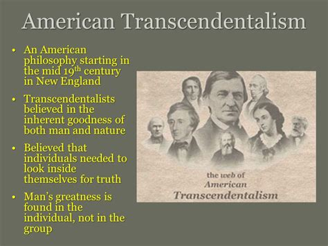 Thoreau Emerson And Transcendentalism Essay by Emerson Thoreau And The Advent Of Transcendentalism Ppt
