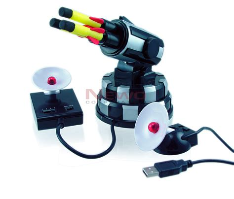 gadget de bureau un lance missile de bureau sans fil