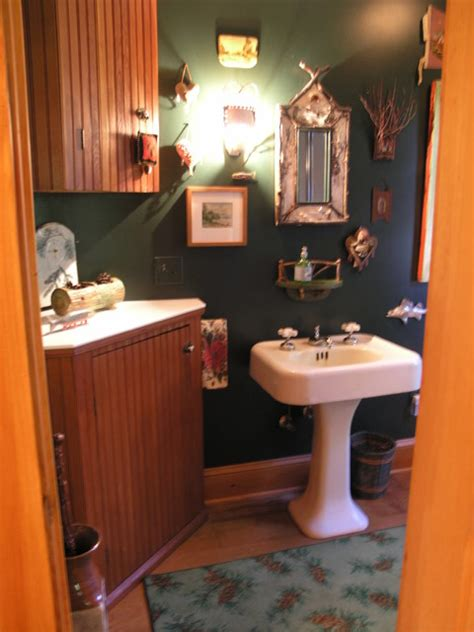 adirondack bathroom decor adirondack style inside out eclectic bathroom