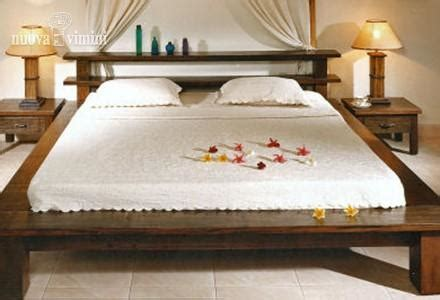 reggilibro da letto letto bamboo e legno nuova vimini