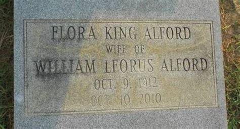 flora king alford