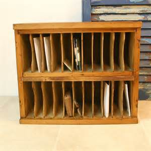 reserved hotel mail cubby cabinet vintage by