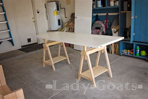 adjustable height sawhorses ana white