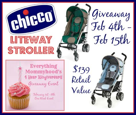 Chicco Giveaway - monicas rants raves and reviews chicco liteway stoller