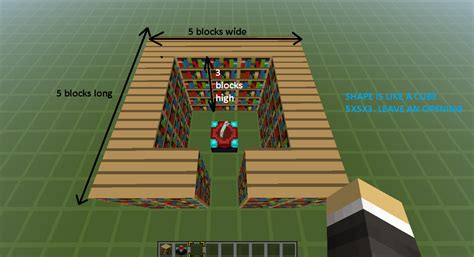 the gallery for gt minecraft bookshelf placement